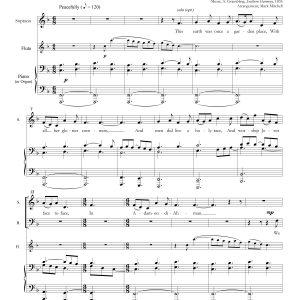 Adam-Ondi-Ahman SATB Piano/Flute