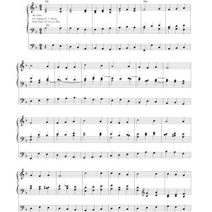 Organ Prelude – In Humility Our Savior