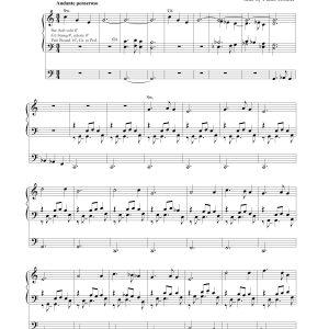 Organ Prelude – Silent Night
