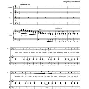 Good King Wenceslas SATB