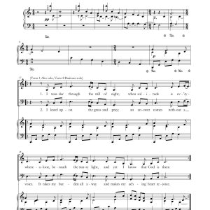 Come Unto Him – Alto, Baritone Duet and Piano