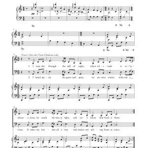 Come Unto Him – Alto, Baritone Duet and Piano