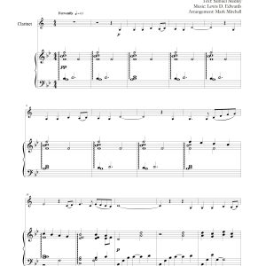 I Know That My Redeemer Lives – Clarinet Solo