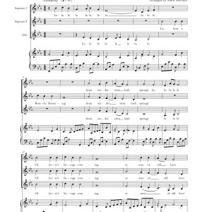 Lo, How A Rose E'er Blooming – SSA and Piano