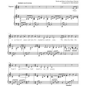 Secret Prayer – Soprano and Piano