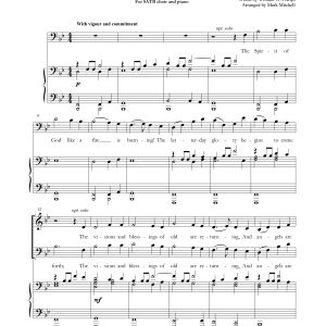 The Spirit of God SATB