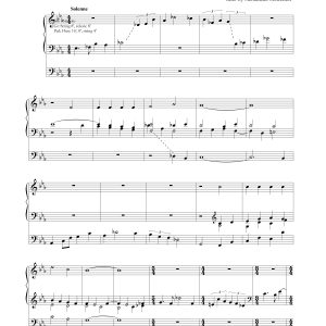 Organ Prelude – God Loved Us, So He Sent His Son