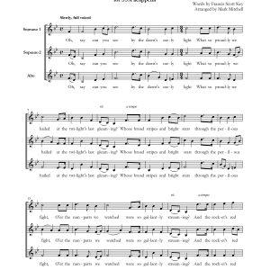 The Star Spangled Banner SSA