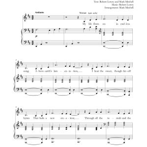 How Can I Keep From Singing SATB