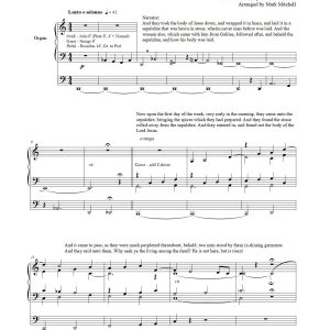 Christ the Lord Is Risen Today SATB