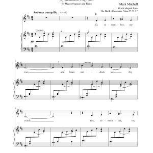 Alma's Blessing – Soprano, Piano