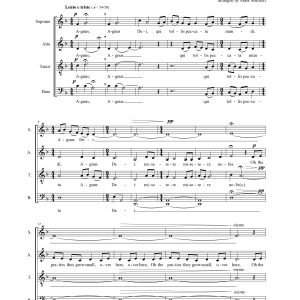 The Famine Song SATB