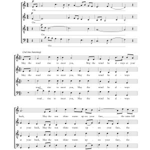 Irish Blessing SATB
