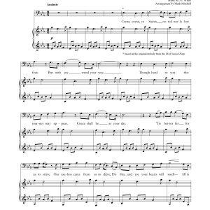 Come, Come, Ye Saints – Baritone and Piano