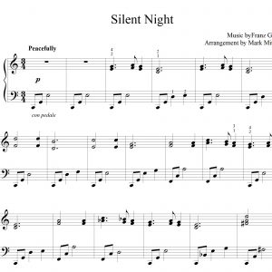 Silent Night – Piano