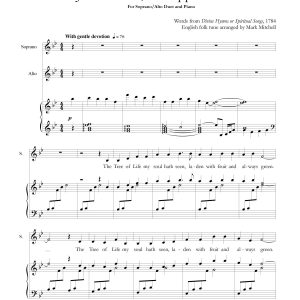 Jesus Christ the Apple Tree Soprano-Alto Duet